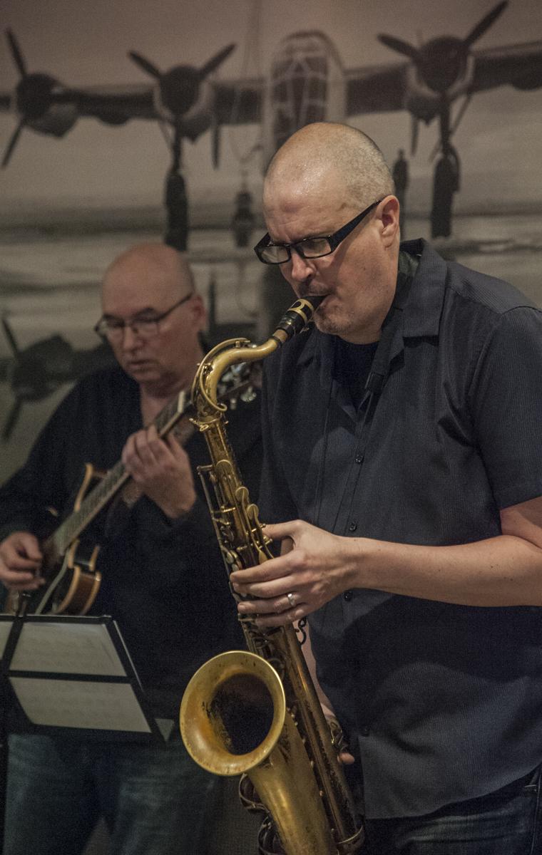 Ted Quinlan & Jeff King - Jeff King Quartet - The Pilot - Toronto