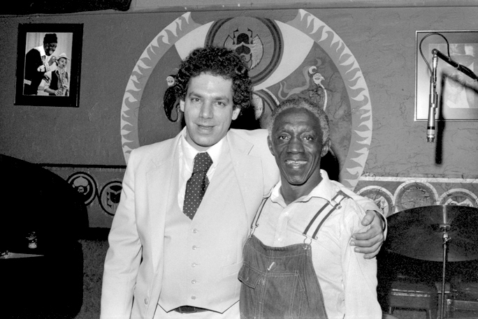 Todd Barkan And Art Blakey At Keystone Korner