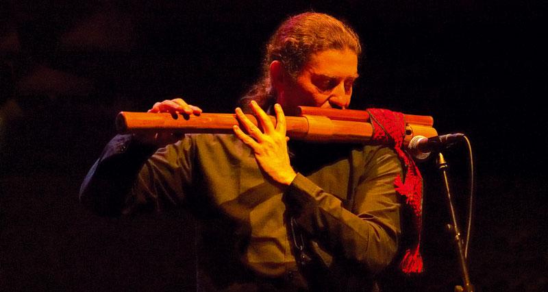 Javier Girotto, Saxophones, Clarinet, Cankarjev Jazz 2006 - Ljubljana, Slovenia