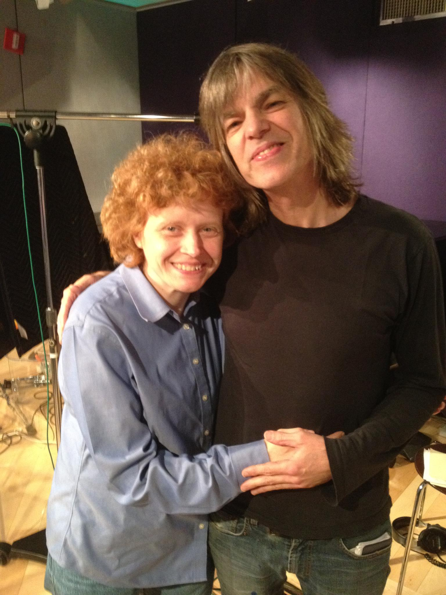Carol with Mike Stern