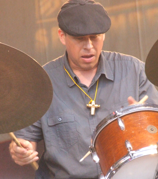 Ted Sirota Leading His Rebel Souls at 2010 Chicago Jazz Festival