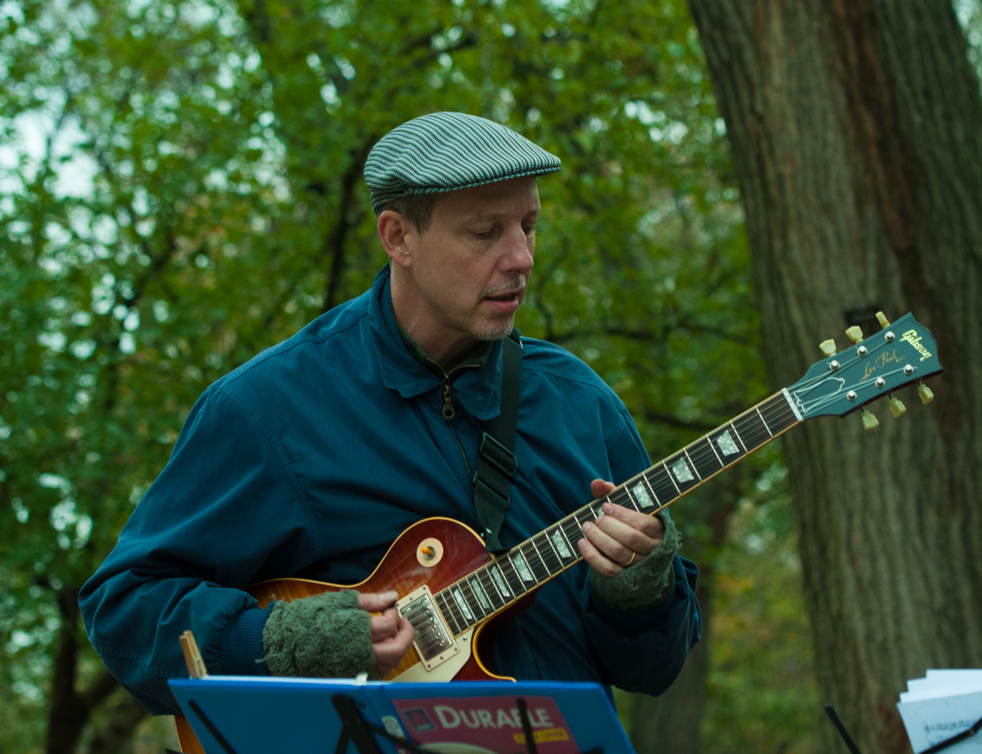 Joel Harrison at Jazz and Colors in Central Park