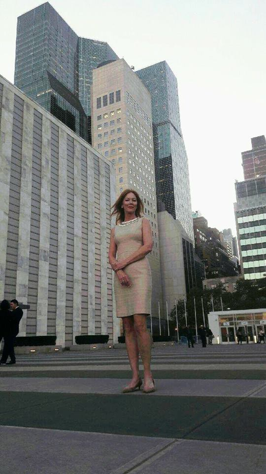 "Sultry ""Santa Baby"" Singer, Actress and Humanitarian Cynthia Basinet Returns to Petition the United Nations."