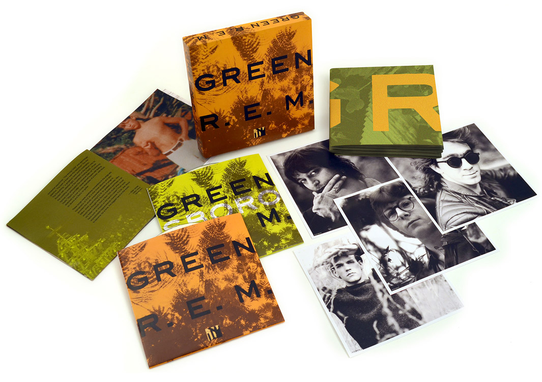 R. E. M.'s Green Revolution; 25th Anniversary Deluxe Edition Available May 14 From Rhino