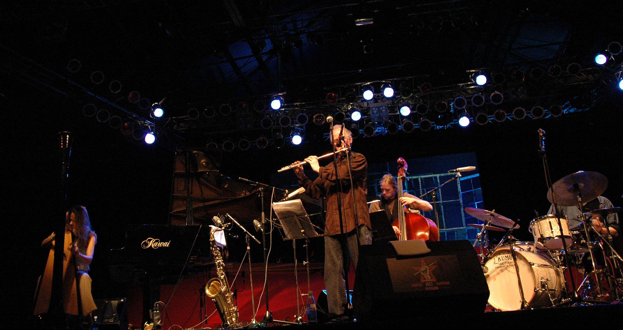 Juhani Aaltonen Quartet at 2010 Tampere Jazz Happening