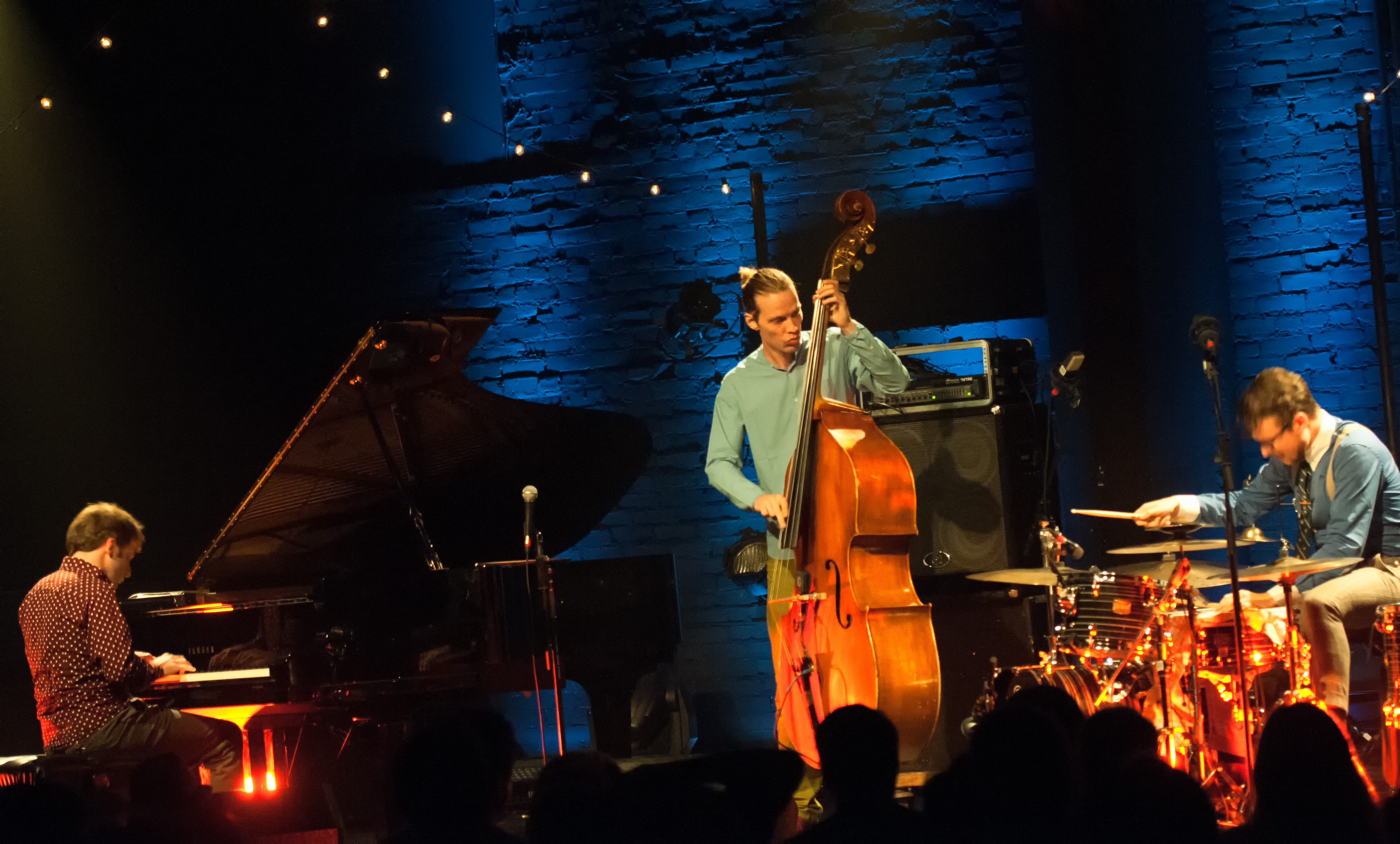 Jasper Hoiby, Ivo Neame And Anton Eger With Phronesis At The Montreal International Jazz Festival 2013