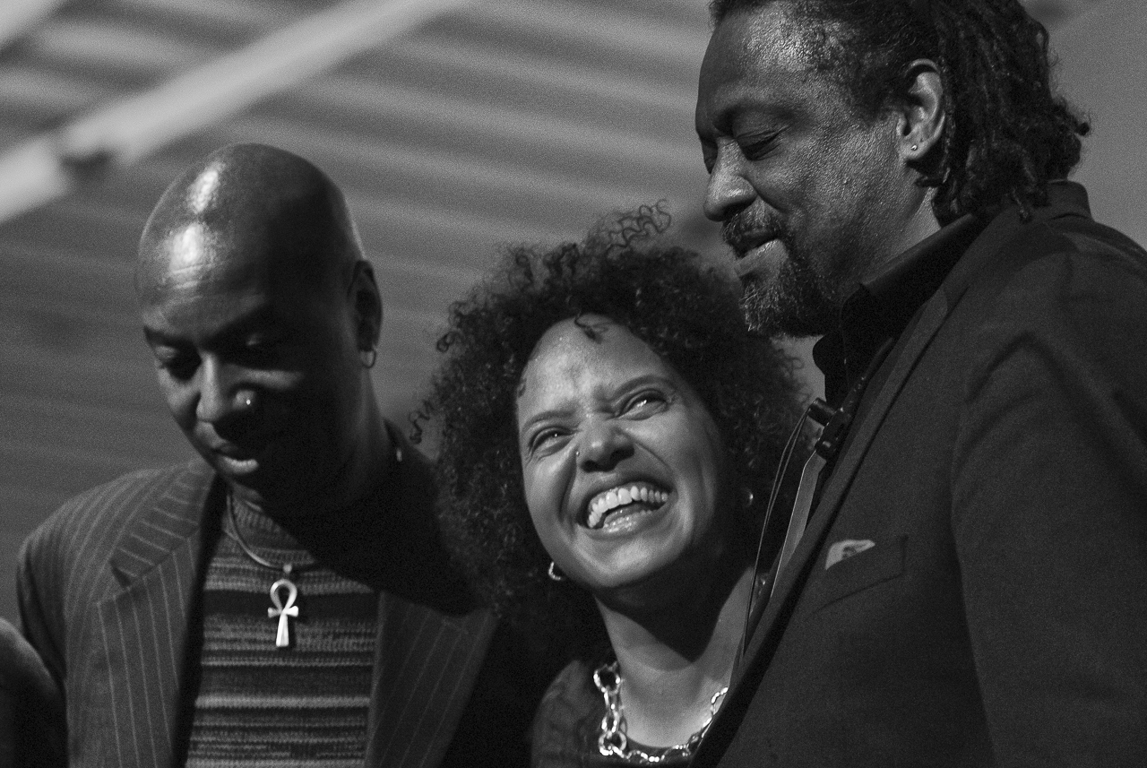 Chico Freeman, Terry Lynne Carrington, Lonnie Plaxico