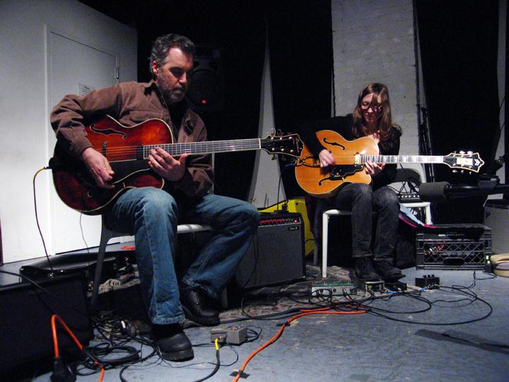 Joe Morris and Mary Halvorsin - The Stone 2007