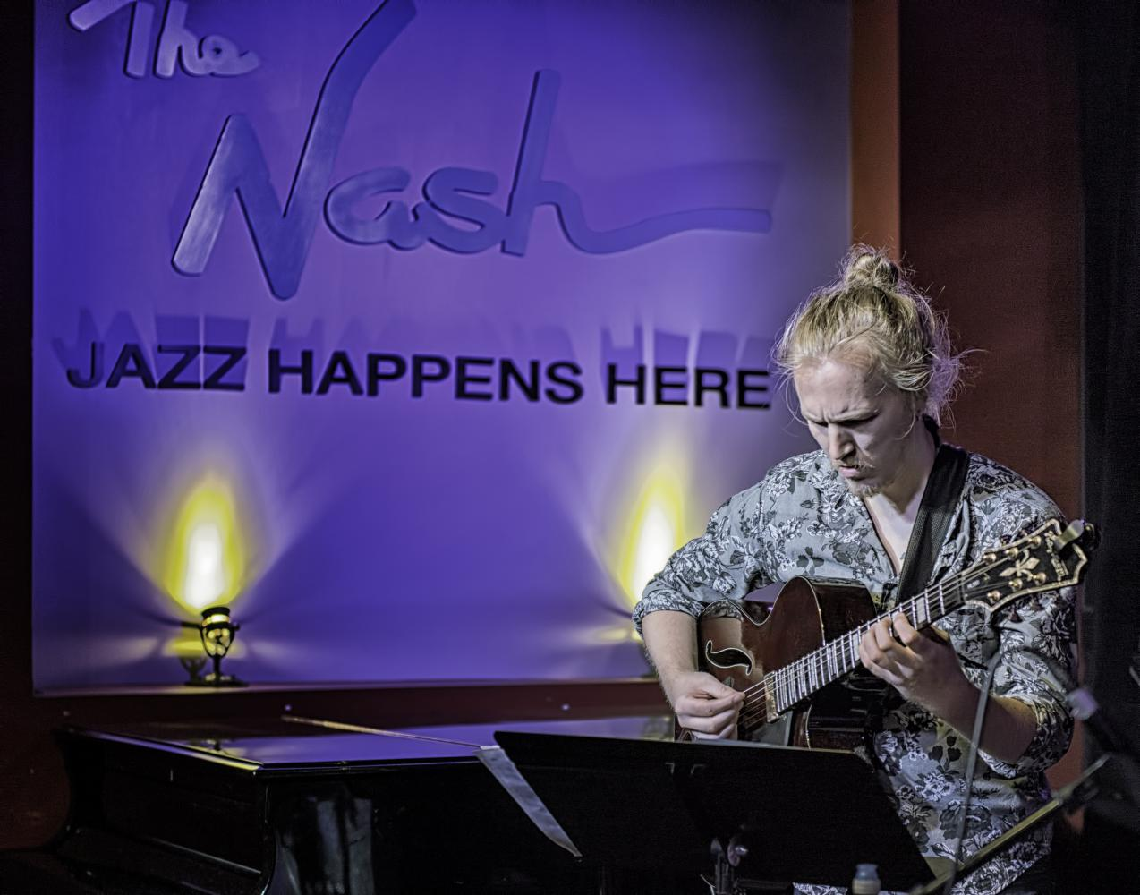 John Meier with Mary Petrich at the Nash in Phoenix