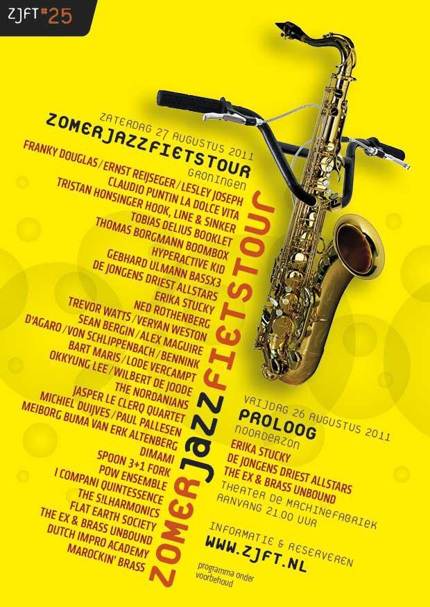 Zomerjazzfietstour 2011