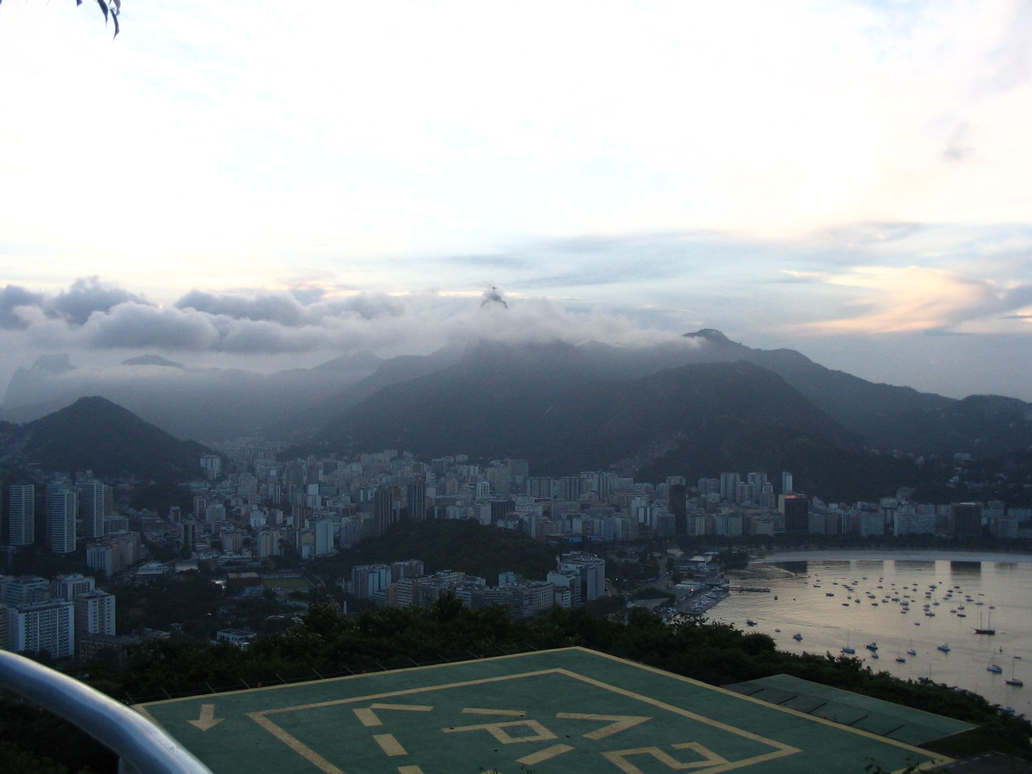 Rio Through the Clouds