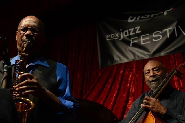 Sonny Fortune and Henry Franklin @ PDX Jazz Fest