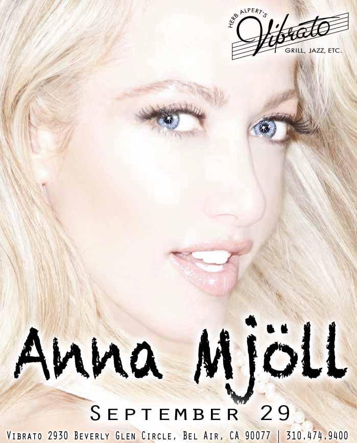 Miss Anna Mjöll, Icelandic Jazz Singing Sensation