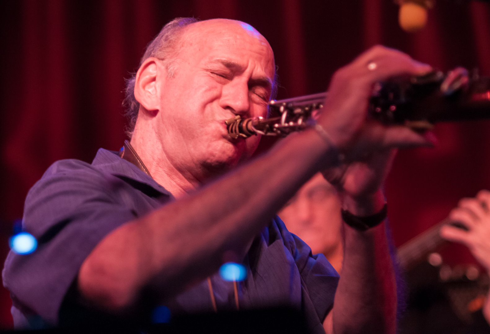David Liebman with the Masters Quartet at Birdland