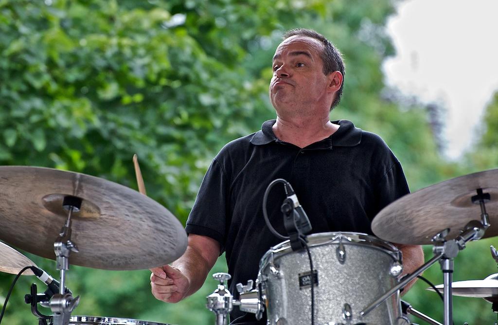 Barry Romberg with Chris Tarry Group - Markham Jazz Festival 2011