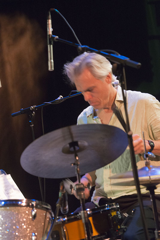 Gerry Hemingway, 2015 TD Ottawa Jazz Festival