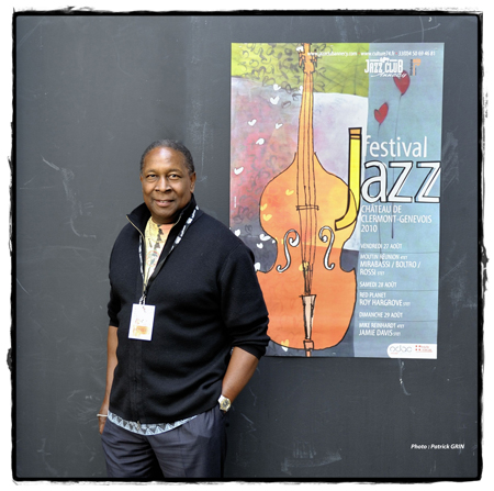 Jamie Davis in Clermont Jazz Festival, Annecy, France