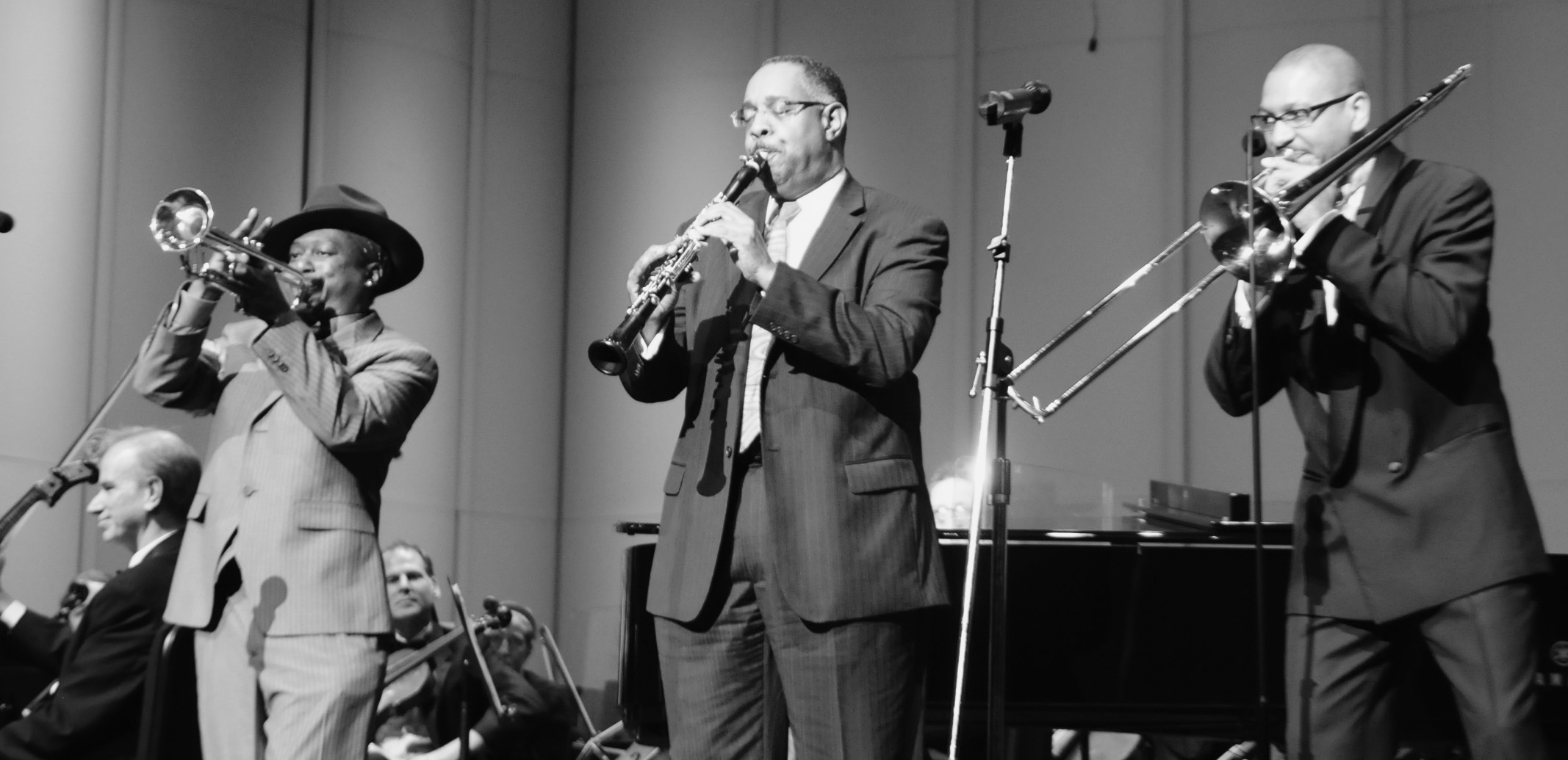 Kermit Ruffins, Michael White, and Delfeayo Marsalis