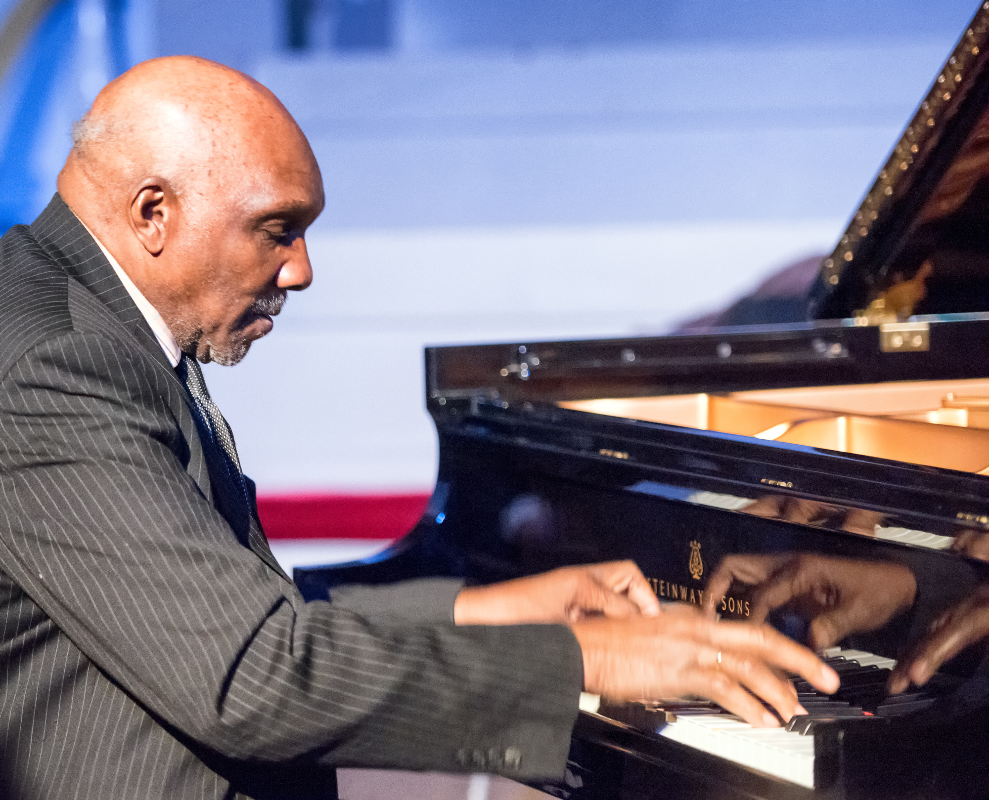 Harold Mabern at Jazz Legends Play for Disability Pride at Nyc Winter Jazzfest 2015