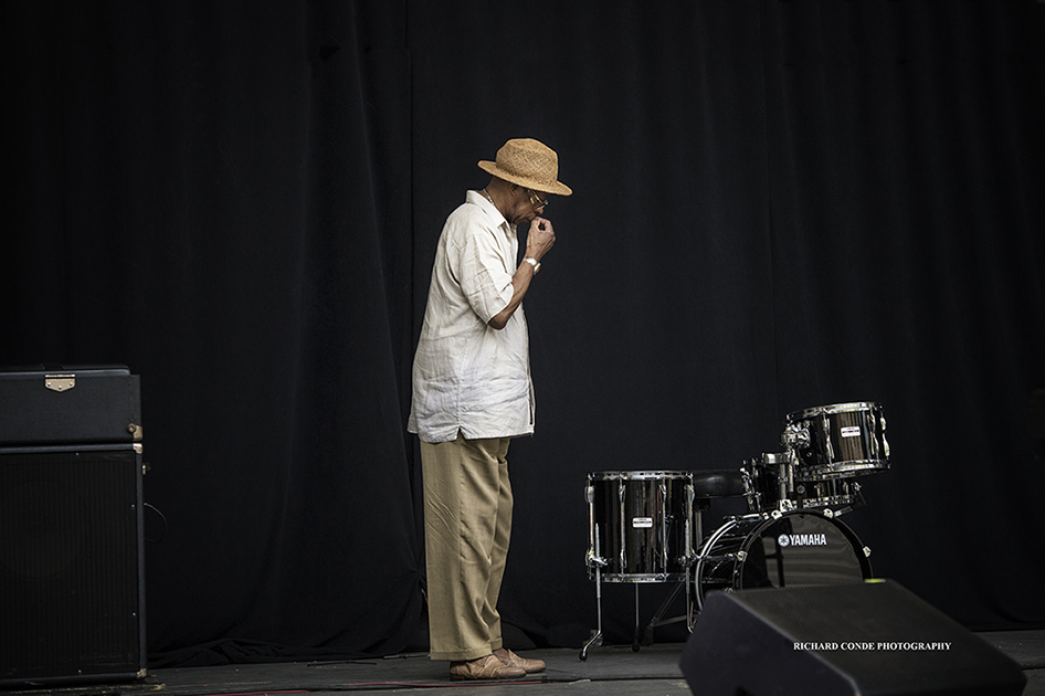 Louis Hayes at the 2017 Charlie Parker Jazz Festival