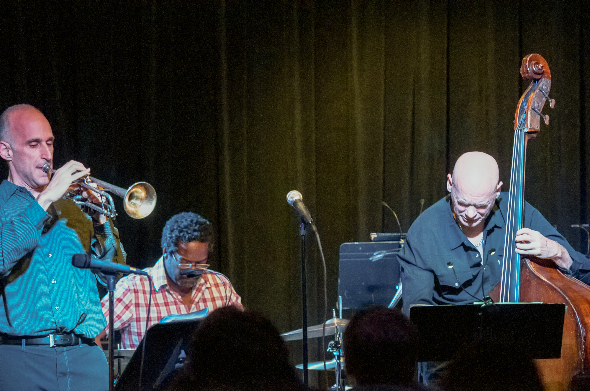 Ralph Alessi, Mark Helias And Gerald Cleaver With The Ralph Alessi Quartet At The Nash