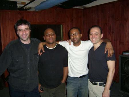 Joseph Lepore,J.D. Allen,Quincy Davis,Marco Di Gennaro New York Apr 05.JPG