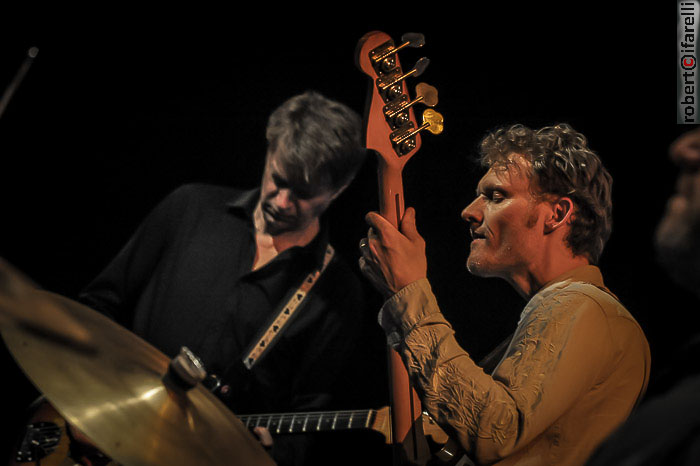 Nels Cline and Chris Wood