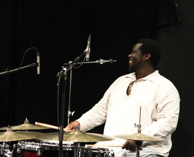 Johnathan blake on valby summer jazz 2013 in copenhagen
