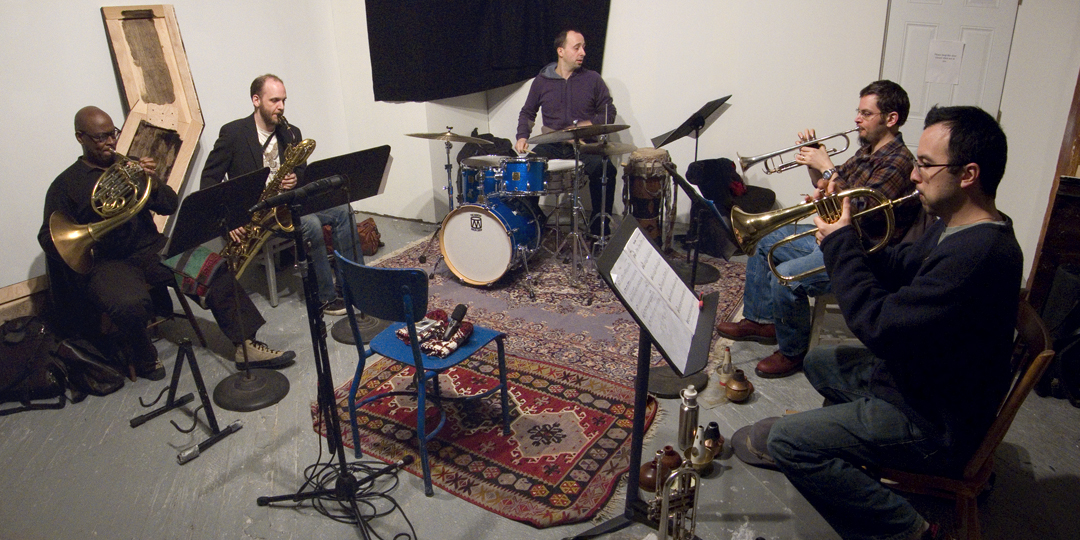Harris Eisenstadt's Guewel w/ Taylor Ho Bynum, Nate Wooley, Mark Taylor and Josh Sinton - 295 Douglass St., Brooklyn 2008