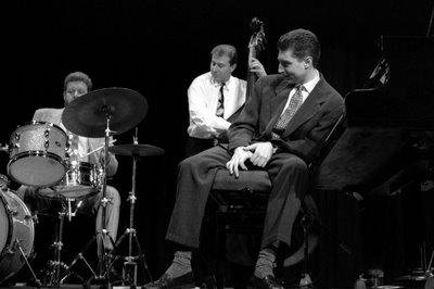 Benny Green, Ben Wolfe and Jeff Hamilton. Valencia (Spain), 1992
