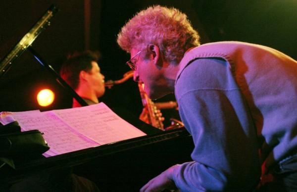"David Kikoski and Seamus Blake with ""Christoph Schweizer-David Kikoski-Seamus Blake-Gene Jackson-Danton Boller"" at the Sud Des A"