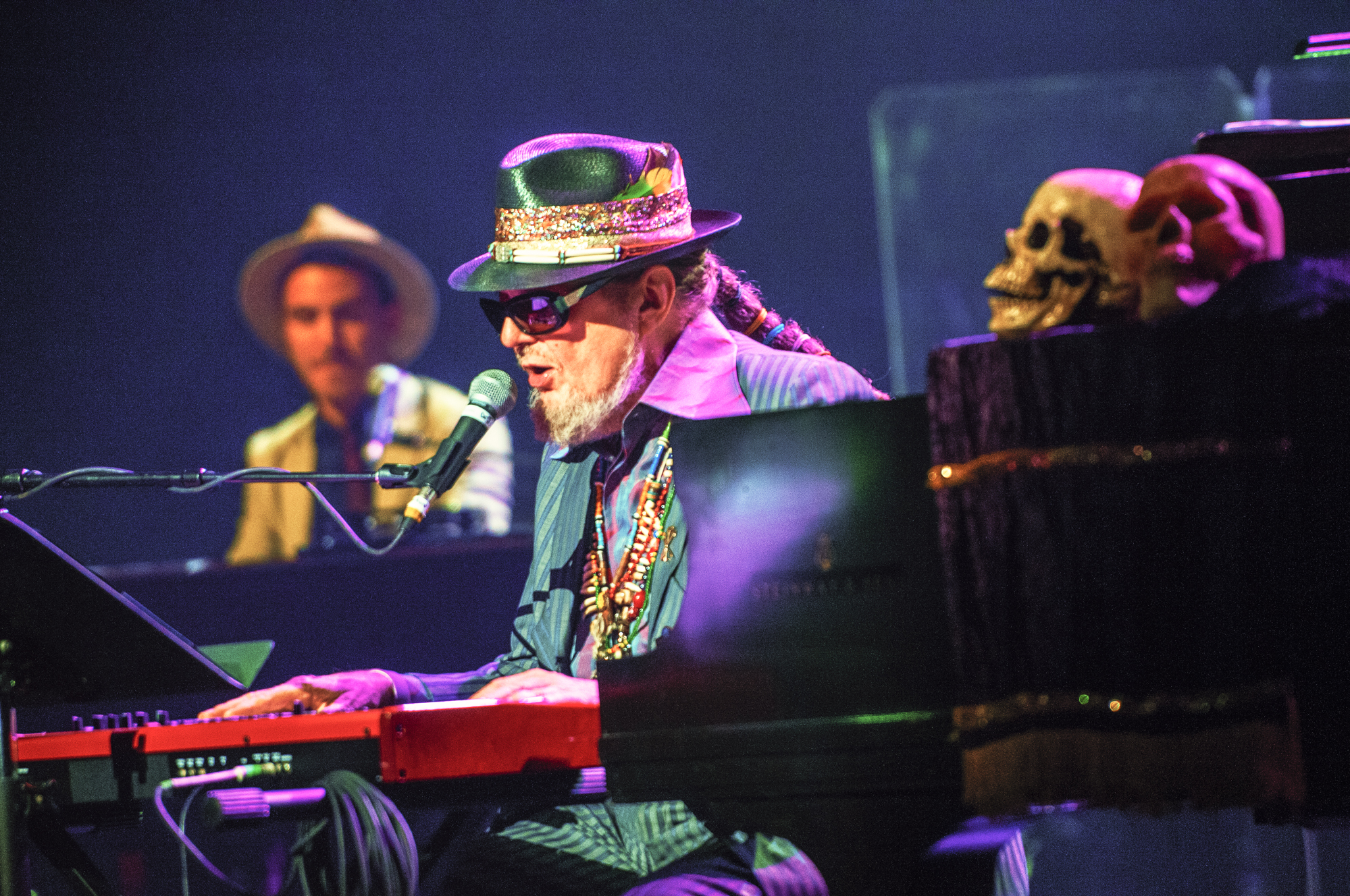 Dr. john and the nite trippers at the montreal international jazz festival 2013