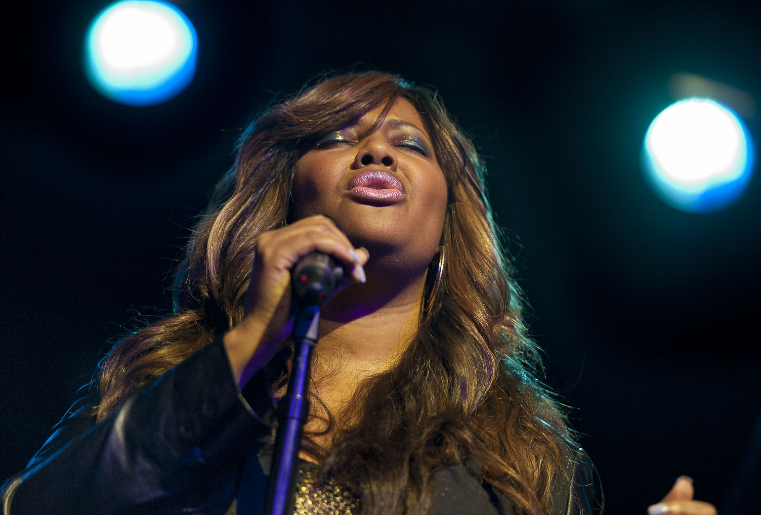 Lalah Hathaway Performs with Robert Glasper: Songs in the Key of Life, Harlemstage 12/14/12
