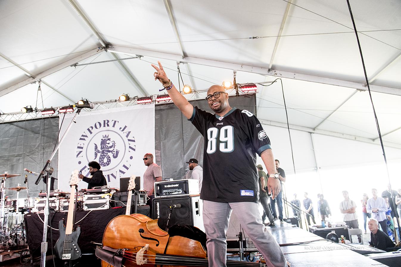 Christian Mcbride At The 2017 Newport Jazz Festival