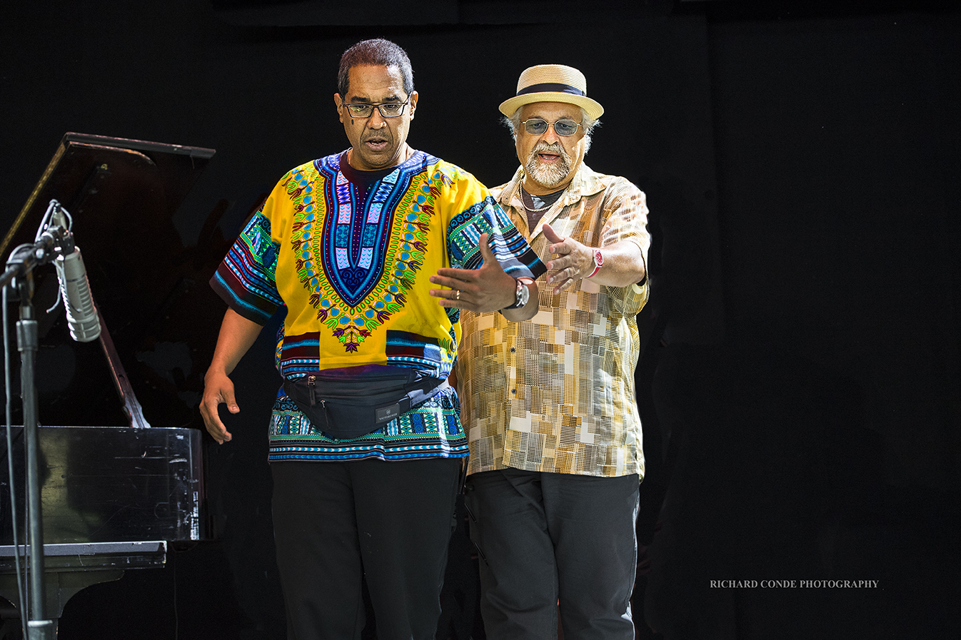 Danilo Perez and Joe Lovano at the Freihofer Saratoga Jazz Festival 2017