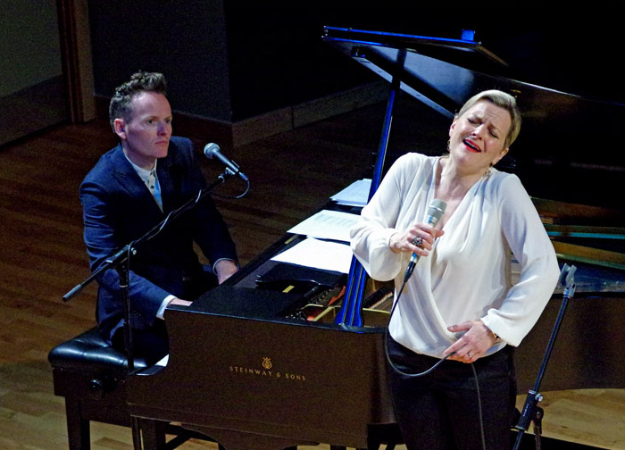 Joe Stilgoe and Claire Martin,the Birley Centre, Eastbourne, East Sussex, uk