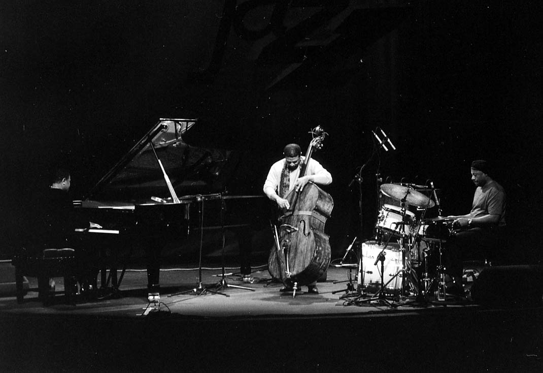 Buster Williams Trio: Buster Williams (Double Bass), Geri Allen (Piano), Lenny White (Drums) at Guinness Cork Jazz Festival, Oct