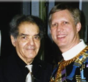 Andy Wasserman and George Russell 1996 in New York City