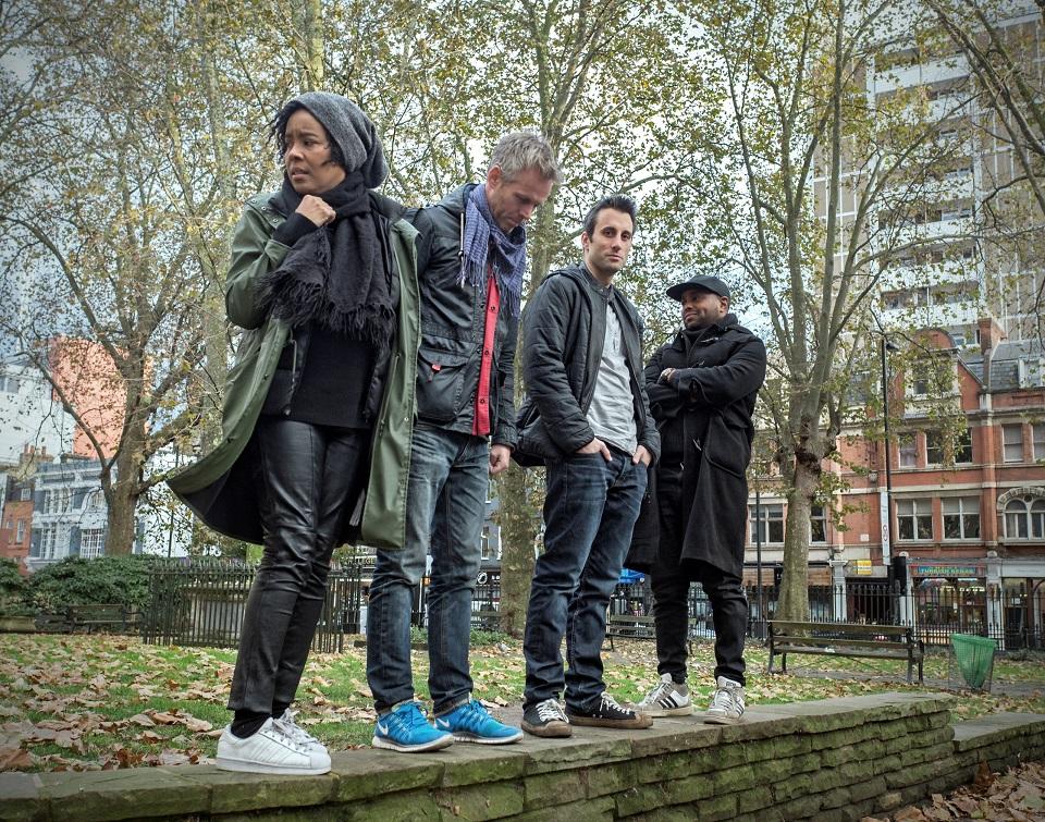 Alexander Hawkins/Elaine Mitchener Quartet at Sonorities Festival Belfast 2018