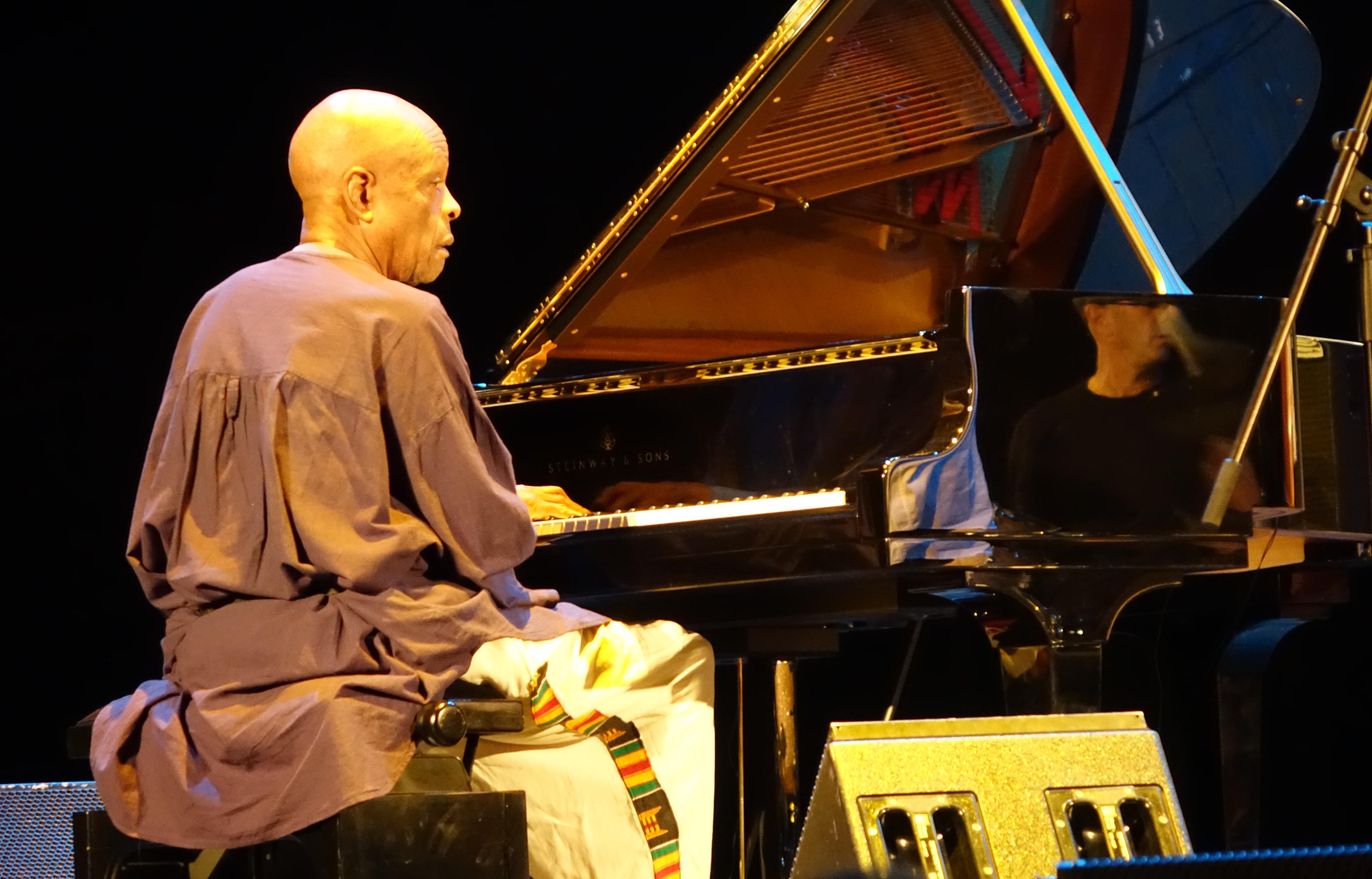 William Henderson at the Vilnius Mama Jazz Festival in November 2017