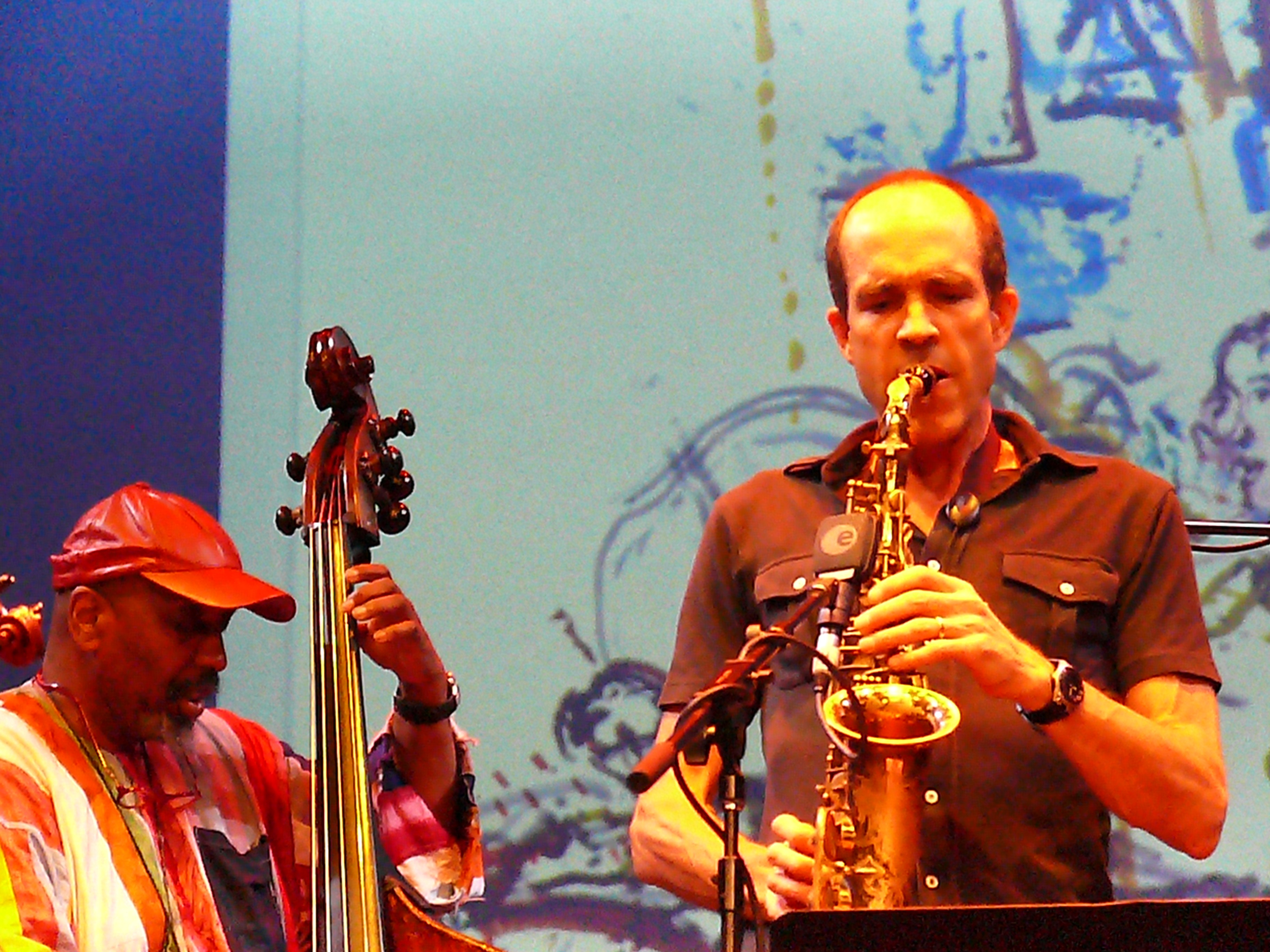 William Parker and Rob Brown at Vision Festival 2011