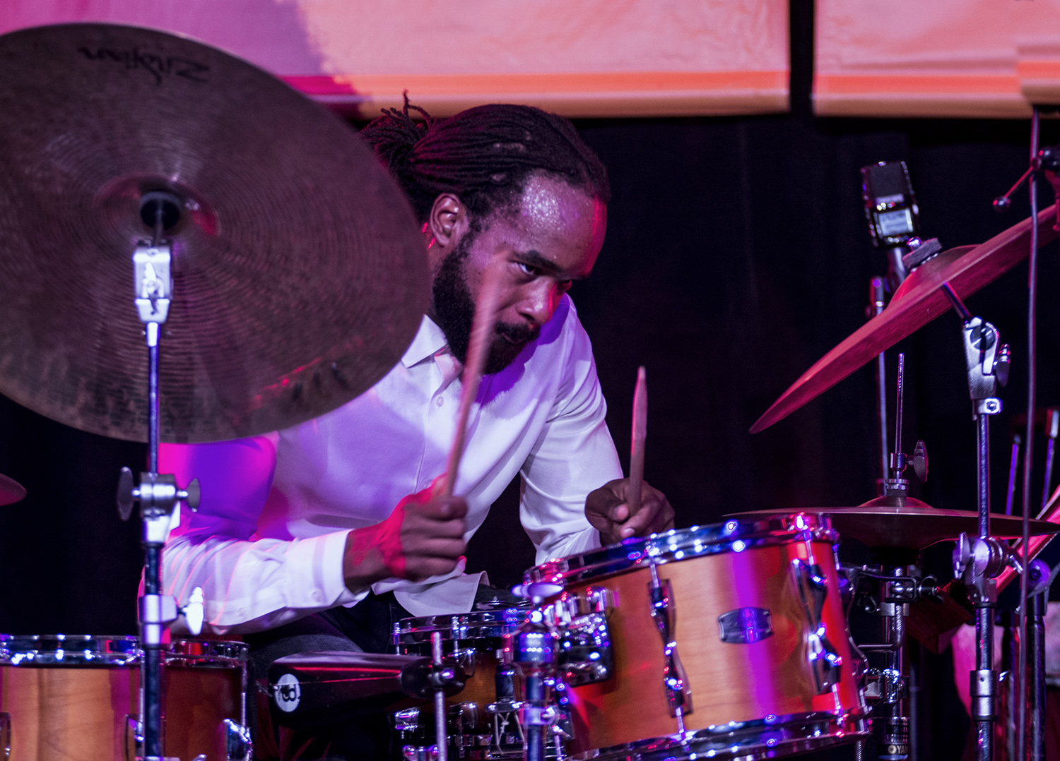 Obed Calvaire at Monterey Jazz Festival 2017