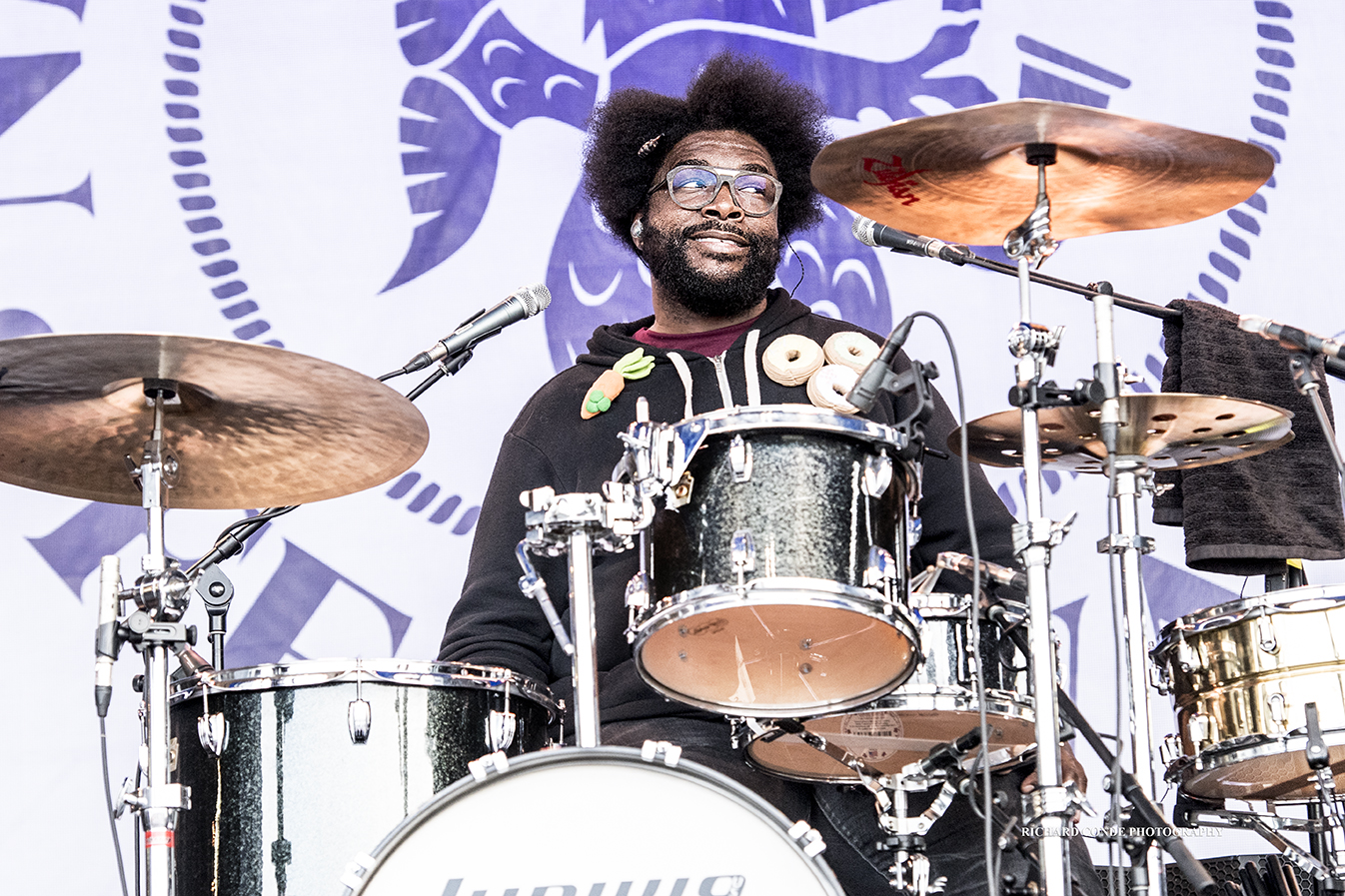 Quest Love at the 2017 Newport Jazz Festival