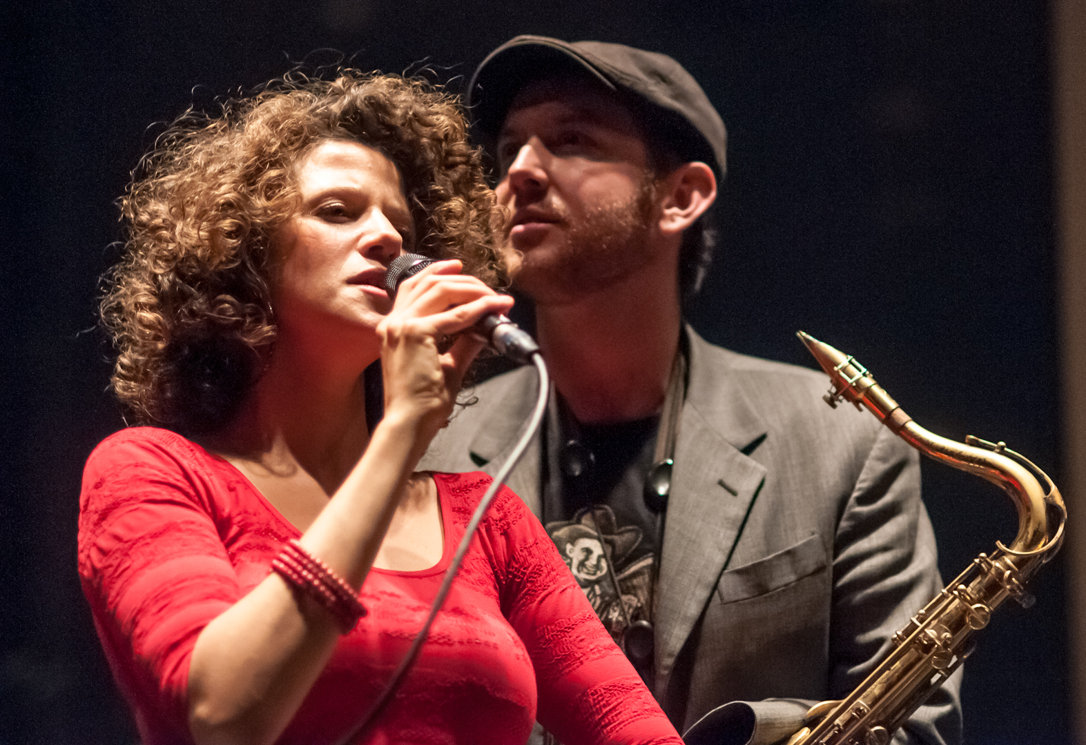 Cyrille Aimee and Matt Simons with the Surreal Band at Dizzy's Club Coca Cola
