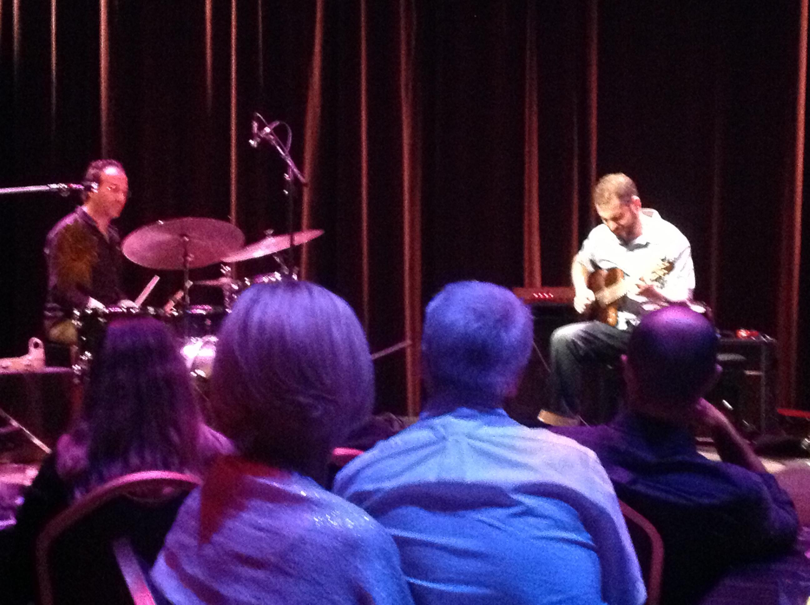 Charlie Hunter & Scott Amendola at the Bienes Center for the Arts