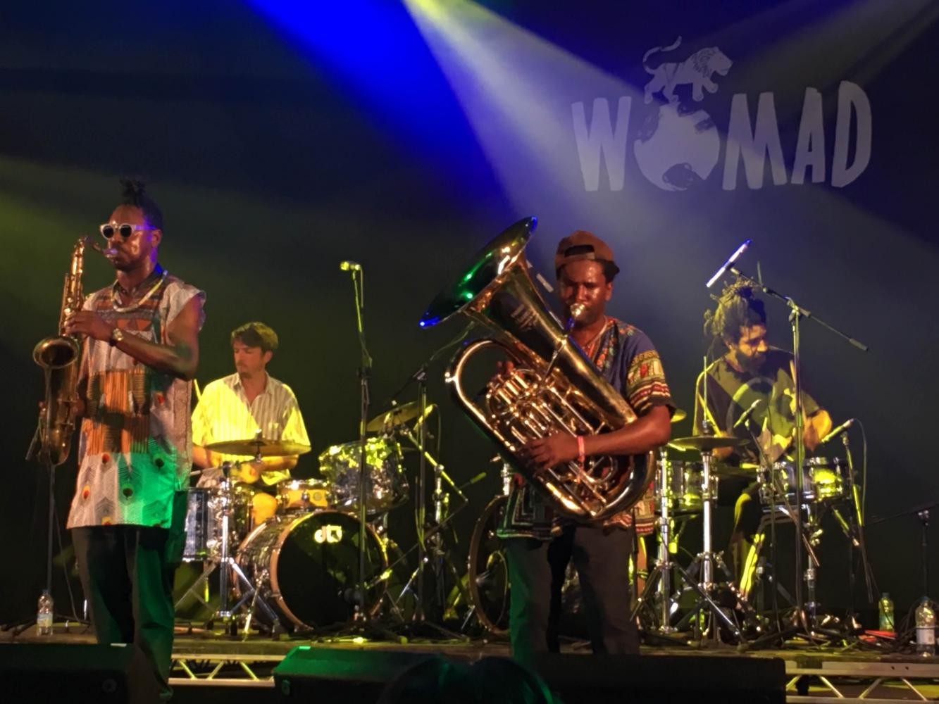 Sons Of Kemet: WOMAD 2016