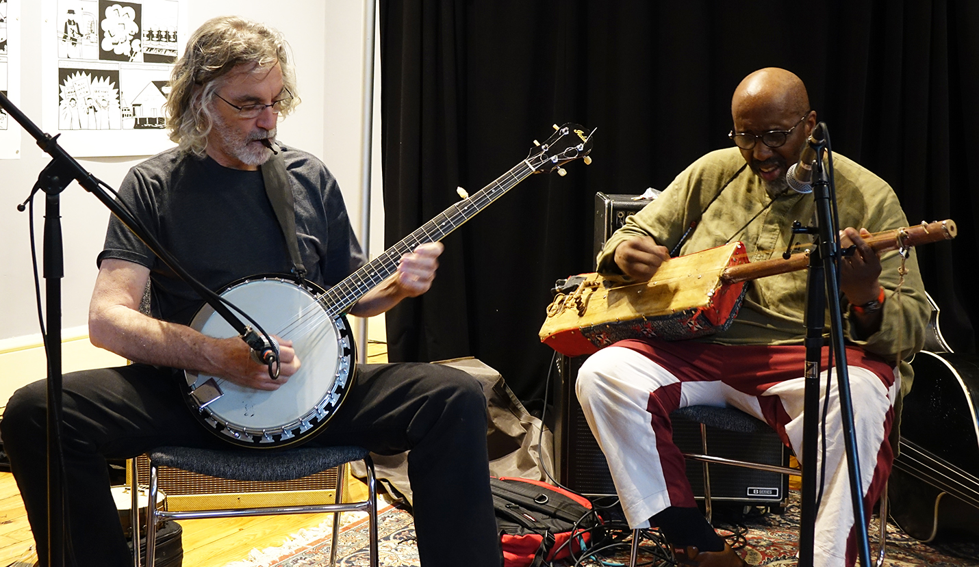 Joe Morris & William Parker at Something Else! Festival