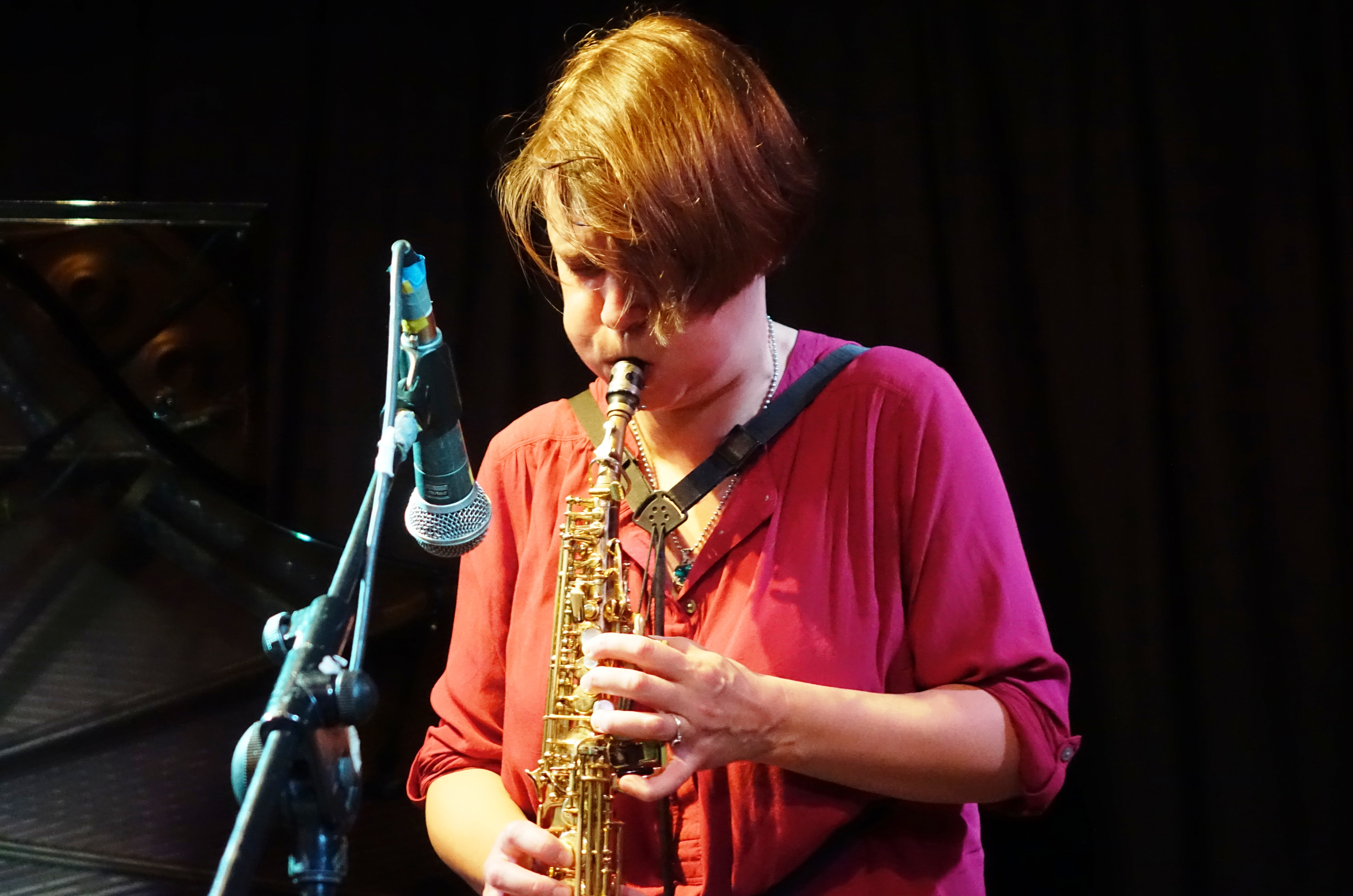 Ingrid Laubrock at the Vortex, London in December 2017