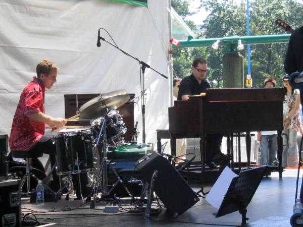 Tony Foster at the B3 Organ with Joe Poole on Drums
