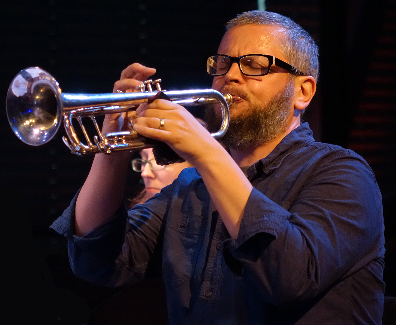 Nate Wooley at Doek Festival 2015